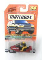 Matchbox MBX Superfast 1999 No 94 SNOWMOBILE USA Version