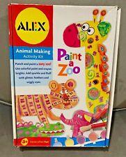 Alex Animal Making Activity Kit-Paint a Zoo-New