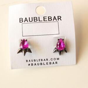 New Baublebar Acrylic Stud Earrings Fashion Women Party Jewelry 2Colors Chosen