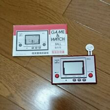 Nintendo Game & Watch BALL RGW-001 Reprinted Edition NEW Japan Free Shipping SAL