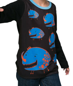 Monsters -   winter long sleeve Boys T shirt - FREE DELIVERY size 2-12