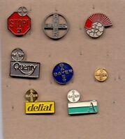 8 pins pin badge anstecknadel BAYER GERMANY PHARMACEUTICS ASPIRIN pharmacy