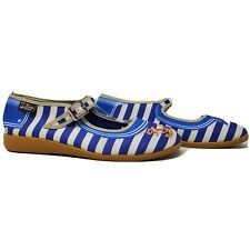 Hot Chocolate Design SAILOR Chocolaticas Mary Jane Shoes Blue Euro 40 US 10