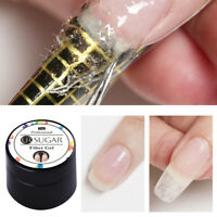 UR SUGAR 7ml Nagel Fiber Gellack Soak Off Tips Extension UV Gel Extend Nail Art
