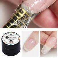 UR SUGAR 7ml Nagel Fiber Gellack Soak Off Tips Extension UV Gel Extend Nail Art