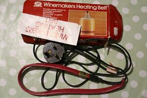 BOOTS HOME WINE MAKING HEATER BELT . WINEMAKING/ HOME BREW/ BREWING/ DRINKS