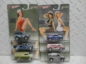 Hot Wheels Pop Culture Nose Art (6) Car Set