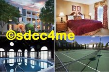 Wyndham Kingsgate Resort 2BR DLX OCTOBER 10-15 Williamsburg Virginia Busch Gard