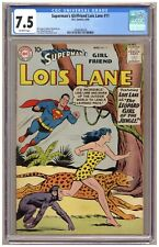 Superman's Girlfriend Lois Lane 11 (CGC 7.5) Schaffenberger art; DC Comics; 1959