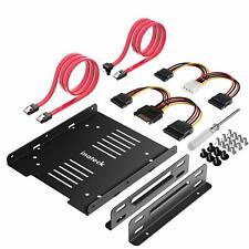 Inateck  ST1004 Cadre de Montage pour 2 x 25 HDD/SSD vers 35 Disque Dur Int