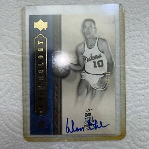 2006-07 Chronology Don Ohl Autographed  /10