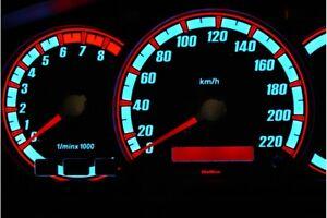 Kia Sorento design 1 glow gauges dials plasma dials kit tacho glow dash shift in
