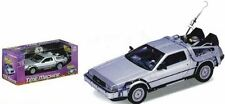 NEW BACK TO THE FUTURE 1:24 SCALE DIE-CAST DELOREAN CAR REPLICA WELLY DIECAST