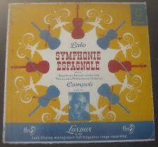 LALO  SYMPHONIE ESPAGNOLE  CAMPOLI - VIOLIN / VAN BEINUM LONDON FFrr LL 763 LP