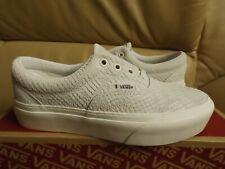 Vans Era Platform (Animal Emboss) Women's Size 6.5 Shoes White VN0A3WLU1VK