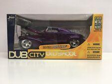 Jada Toys Dub City Oldskool 1940 Pontiac 1:24 Diecast Metal Purple