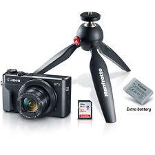 Canon PowerShot G7 X Mark II Digital Camera Video Creator Kit - Canon Dealer!