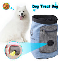 2-in-1 Portable Pet Dog Puppy Training Treat Bag Feed Bait Food Snack Pouch Belt