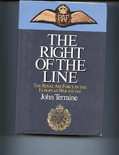 THE RIGHT OF THE LINE :  ROYAL AIR FORCE IN THE EUROPEAN WAR, 1st UK  HB/DJ VG