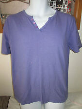 GOOD SOULS - PURPLE SHORT SLEEVED T- SHIRT SIZE  LARGE