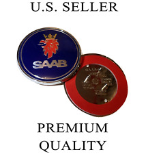 "Saab 9-3 9-5 Front Hood Emblem Badge 68mm 2.625"" 5289905 Free Shipping"