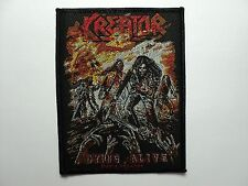 KREATOR dying alive  WOVEN  PATCH