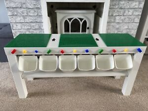 Childrens Baseplates Construction Brick Table Toy Compatible with Lego & Duplo