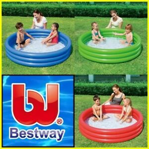 Paddling Pool Garden Pool Family Outdoor Inflatable Kids Fun Pools 1.52m X30cm