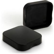 Cámara De Acción 2x Negro Plástico Duro Cubierta De Lente Tapa para GoPro Hero 5 Negro sólo