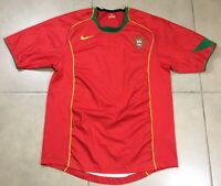 Men's Nike Portugal Soccer Sz S Football Jersey Large 2004-2006 Short Sleeve