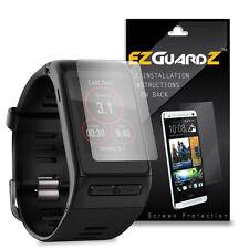 2X EZguardz LCD Screen Protector Cover HD 2X For Garmin VivoActive HR (Clear)