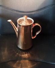 11445) Gorgeous vintage/retro gold lustre coffee pot Royal Worcester undated