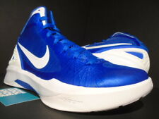 NIKE ZOOM HYPERDUNK 2011 TB DUKE BLUE DEVILS ROYAL WHITE SILVER 454143-400 11.5