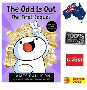 NEW The Odd1s Out First Sequel Book by James Rallison Great Read FREE POST