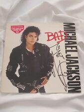 MICHAEL JACKSON Autogramm BAD signiert LP signed AUTOGRAPH InPERSON