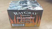 RayGray Snacks Jalapeno Pork Crunch 12 x 90g