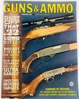 Vintage GUNS & AMMO Magazine February 1967 Gunning by Regions