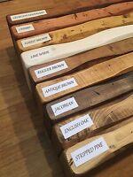 Handmade Rustique Live Edge table basse style vintage//6 couleurs disponibles