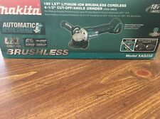 Makita XAG03Z 18V LXT Li-Ion Brushless 4-1/2 in. Cordless Cut-Off/Angle Grinder