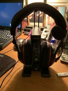 Turtle Beach Ear Force PX5 Black/Red Headband Headsets for Multi-Platform