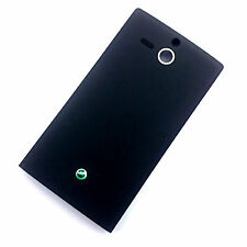 100% Genuine Sony Xperia U ST25i rear battery cover black back housing