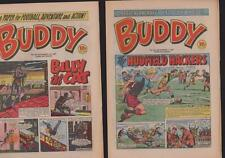 UK comics 1981 BUDDY  #39 #40 Alan Ball / Noel Edmonds  c1.478