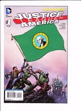 JUSTICE LEAGUE OF AMERICA #1 (2013) DC 52 COMICS WASHINGTON STATE FLAG VARIANT