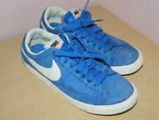 a6eacada5b98bb unisex blue suede Nike lace up trainers shoes size uk 5 eur 38.5
