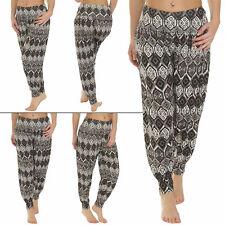 New Womens Ali Baba Harem Pants Ladies Gym Yoga Fitness Hareem Bottom Trousers