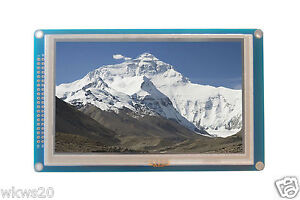 """5"""" 5.0"""" inch TFT LCD module 800x480 SSD1963 touchpad SD, arduino AVR STM32 ARM"""