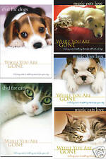 PET MUSIC 5 CD/DVD SET: Dog Music, Cat Music DVD for Dogs, DVD for Cats UNOPENED
