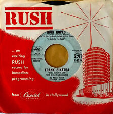 """FRANK SINATRA """"AND A BUNCH OF KIDS"""" - HIGH HOPES - CAPITOL # 4214 - PROMO 45"""