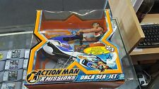 HASBRO ACTION MAN XMISSIONS ORCA SEA-JET (IN BOX)