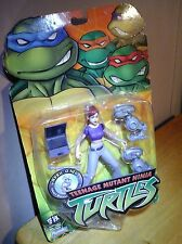 April O'Neil TEENAGE MUTANT NINJA TURTLES action figure 2003 Mousers TMNT